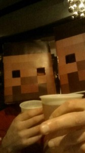 857375 10151775653583709 1603125681 o 168x300 Minecraft Steve Easy Costume Template (wine box design)